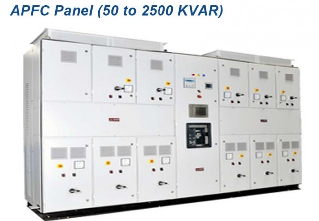 APFC Panel (50 to 2500 KVAR)