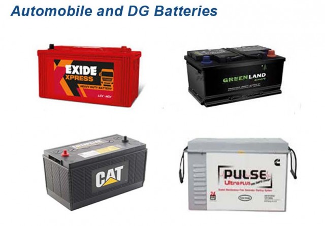 Automobile and DG Batteries