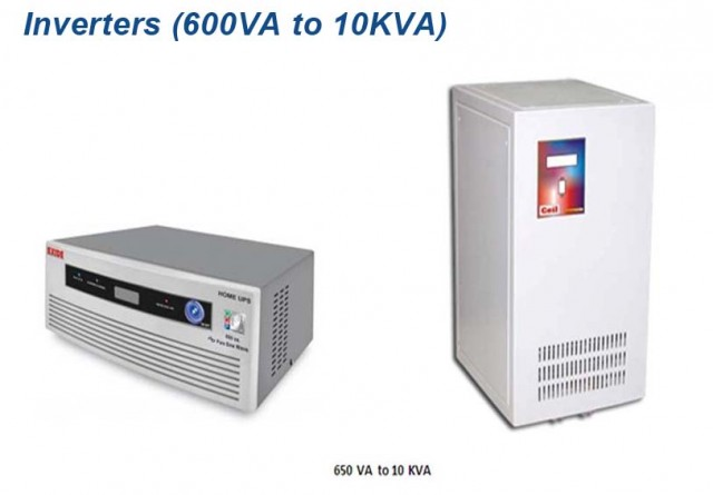 Inverters (600VA to 10KVA)